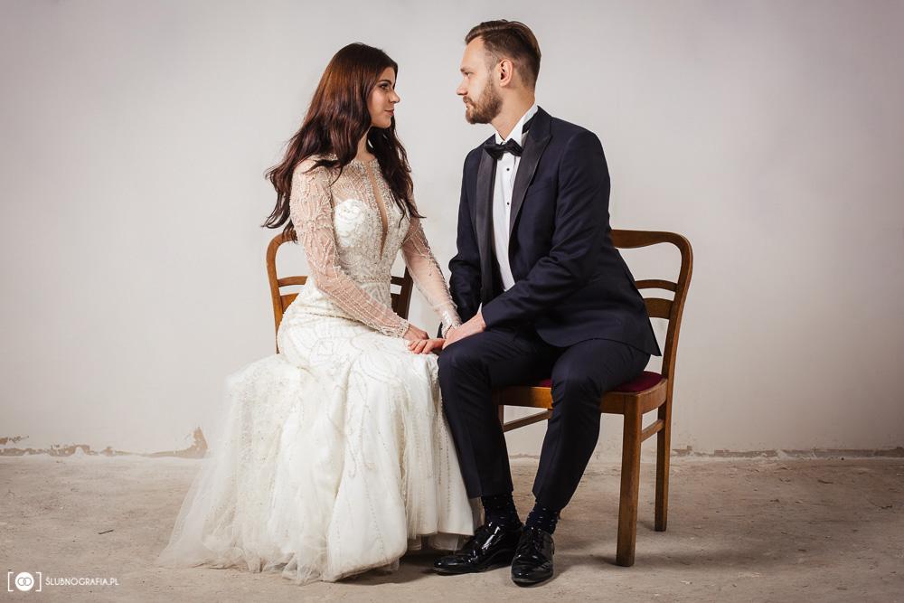 Studyjna sesja ślubna<br>Kamila i Marek