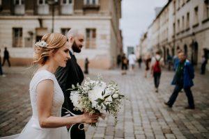 Ślub na rynku w Poznnaiu