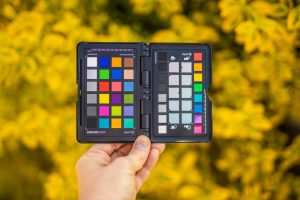 X-Rite Color Checker jest pomocny kiedy warunki oświetleniowe są trudne