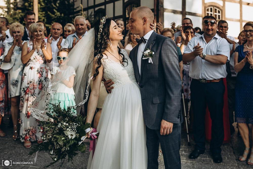 Ślub Natalii i Konrada<br>w Zielonej Górze<br>(Olchowy Gościniec)
