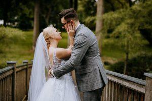 Sesja ślubna w pochmurny dzień